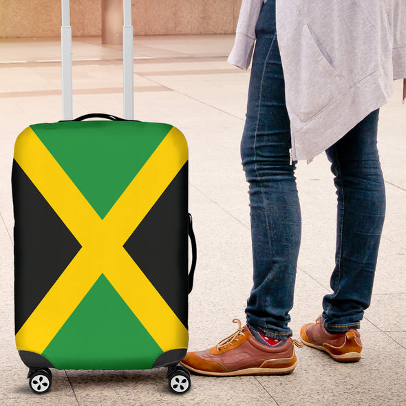 Jamaican Flag Luggage Cover