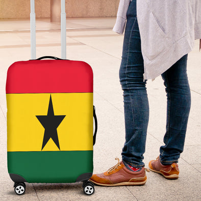 Ghanaian Flag Luggage Cover
