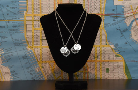 'Find Your Way Back to Me' Lovers Necklace