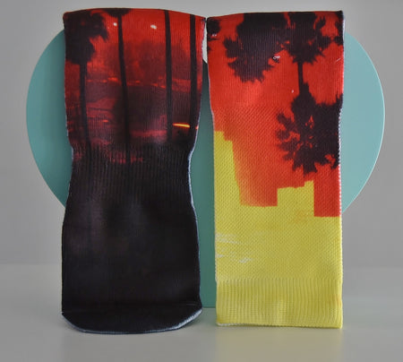 Men's Palm Tree Business socks