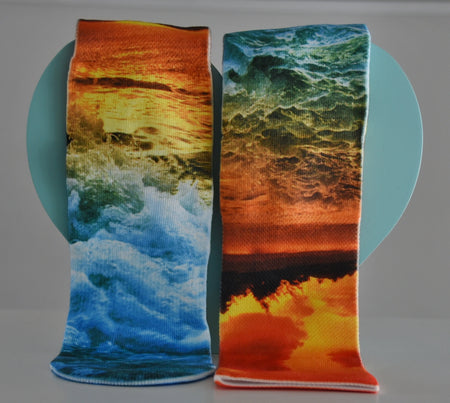 Men's Beach Sunset Socks