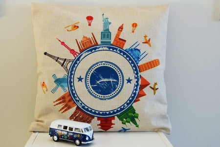 Landmark Cushion Cover