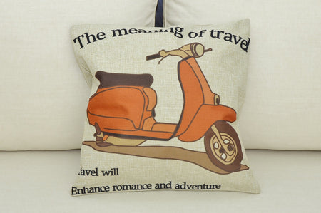 Vespa Cushion Cover