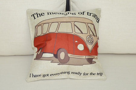 Kombi Van Cushion Cover