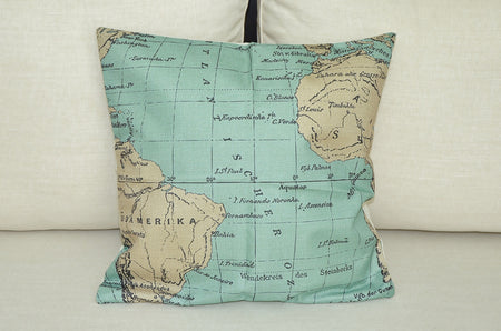 Atlantic Ocean Cushion Cover
