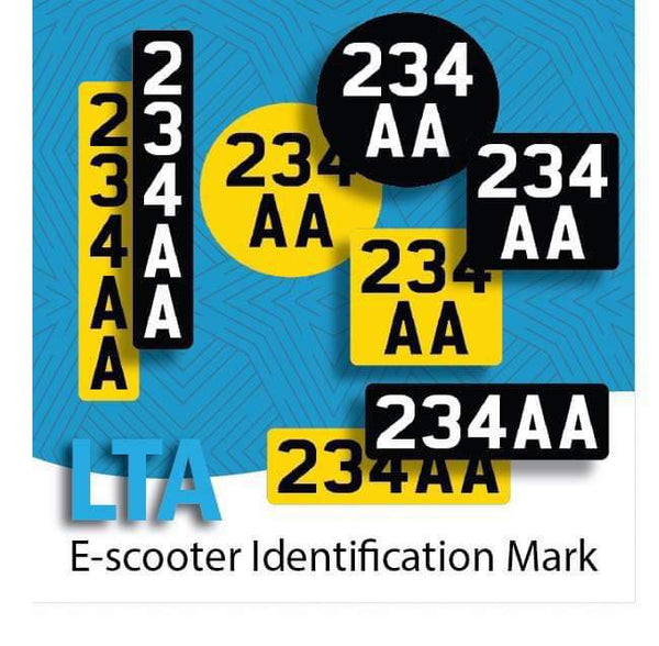 Identification Marks for Escooters: What you need to know
