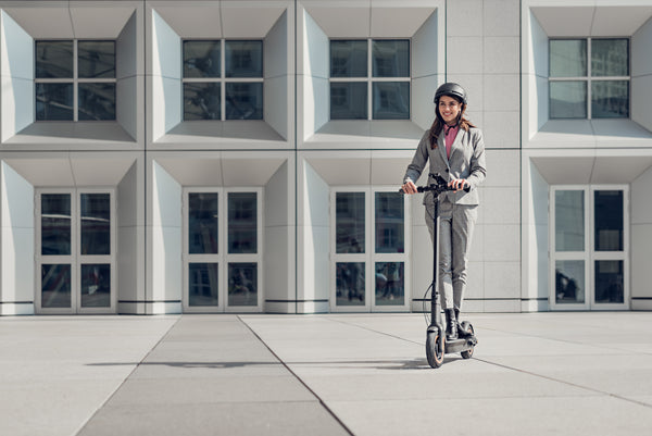 We took the Segway-Ninebot KickScooter MAX on a test ride