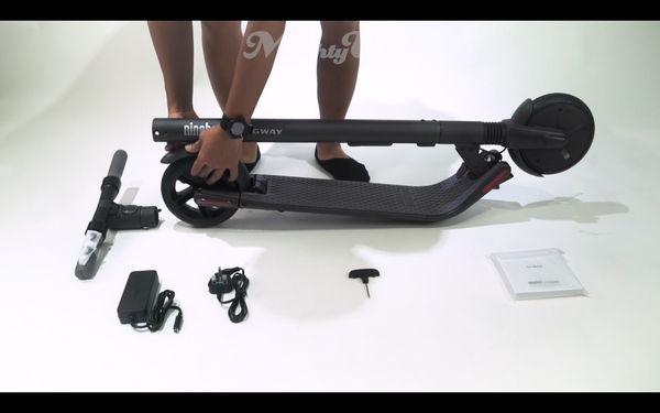 How to Assemble the Segway-Ninebot ES2 Escooter – OHMYBIKE