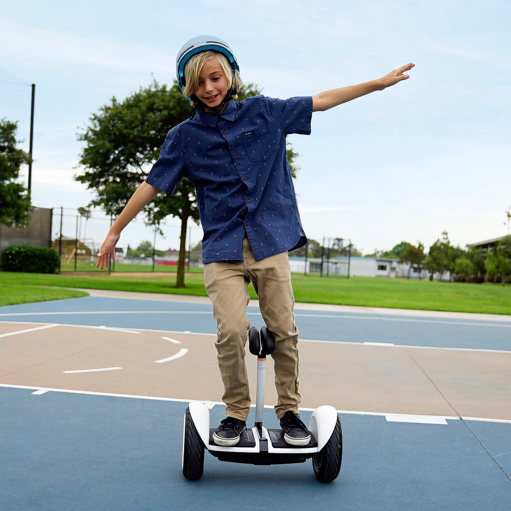 kid on UL2272-Certified and LTA approved Segway-Ninebot MiniLITE hoverboard