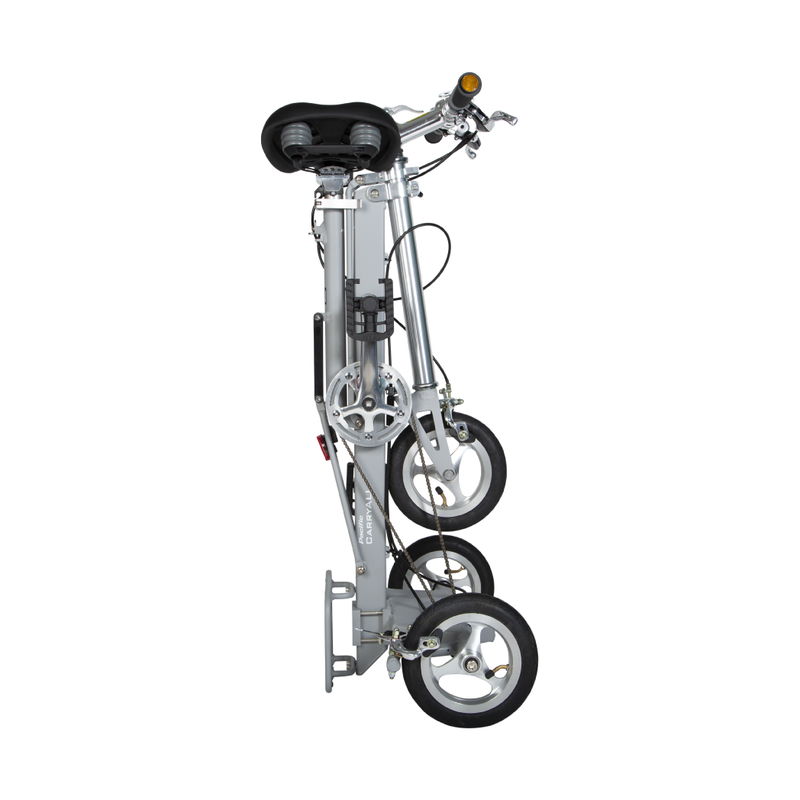 CarryAll Foldable Tricycle in Slate Grey - Mighty Velo
