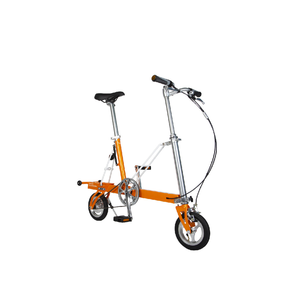 CarryMe Travel Folding Bike (Amber Orange)
