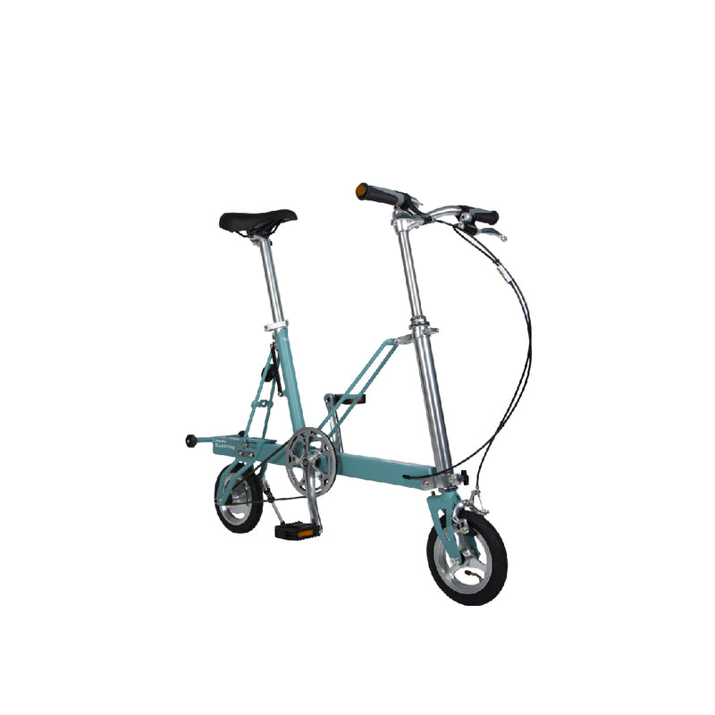 CarryMe Compact Foldable Bike in Aquamarine Green - Mighty Velo
