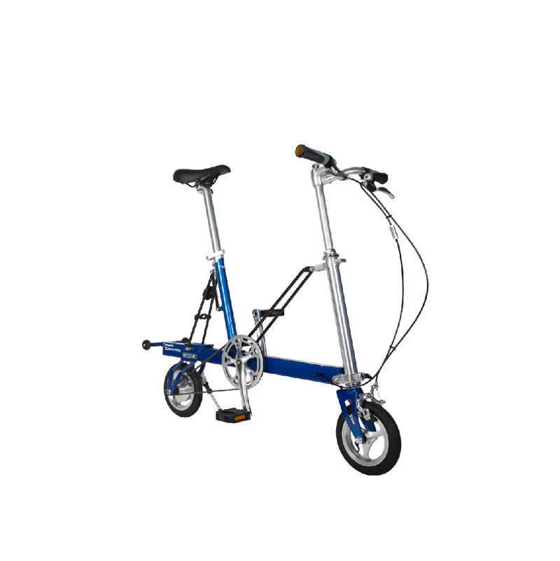 CarryMe Compact Foldable Bike in Electric Blue - Mighty Velo