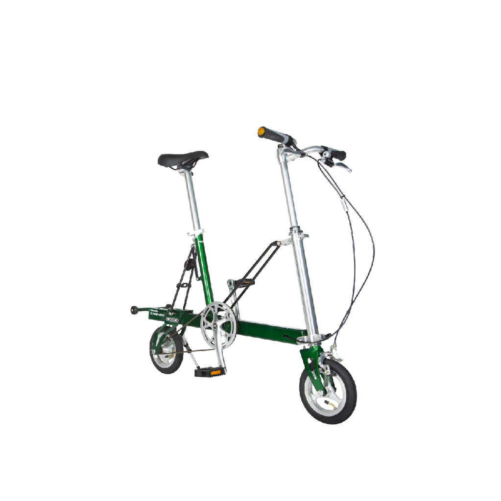 CarryMe Travel Folding Bike (Forest Green)