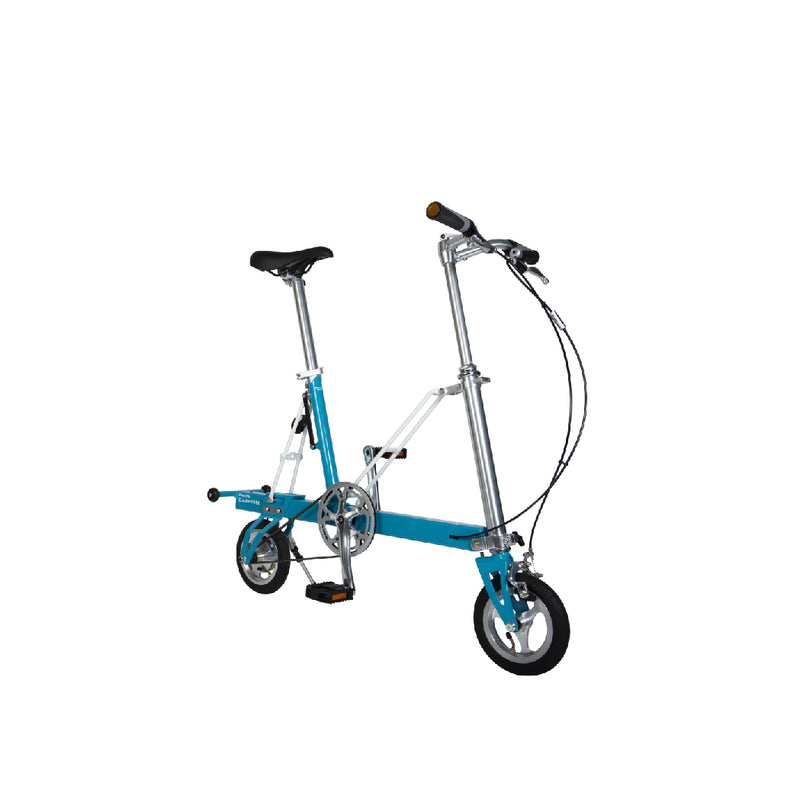 CarryMe Compact Foldable Bike in Sky Blue - Mighty Velo