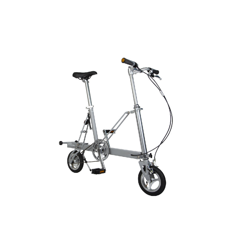 CarryMe Travel Folding Bike (Slate Grey) - OHMYBIKE