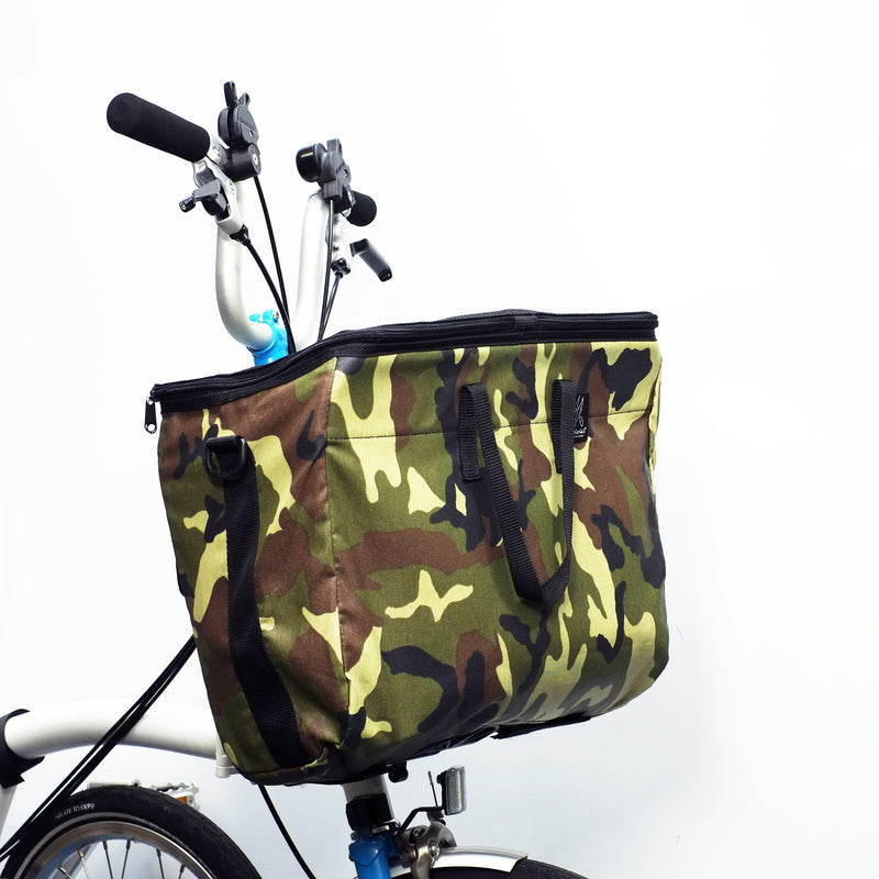 Valeria's Folding Basket for Brompton bikes - OHMYBIKE