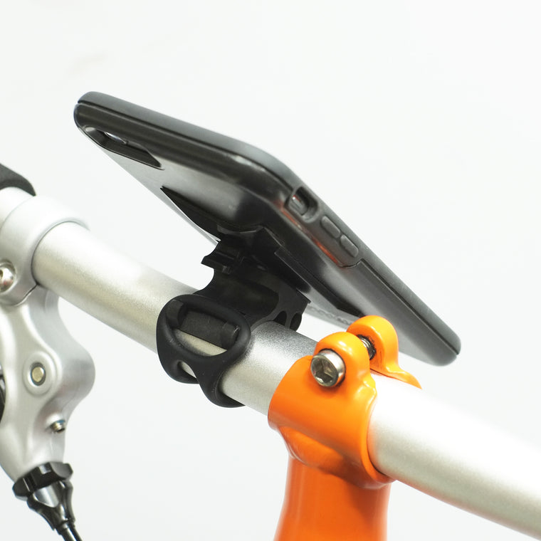Trigo Universal Mount on Brompton bike