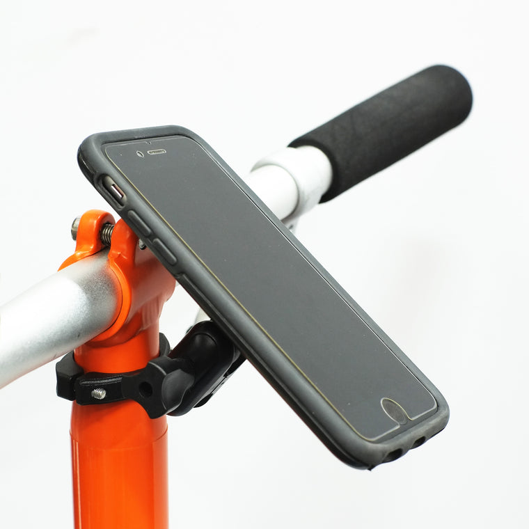 Trigo Moto Edition on Brompton stem