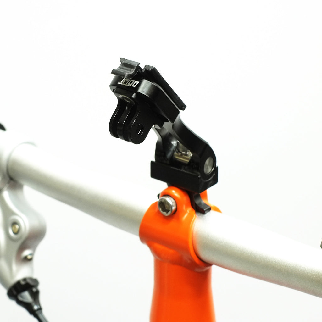 Trigo Add-on accessories: GoPro Adaptor on Trigo Brompton Edition