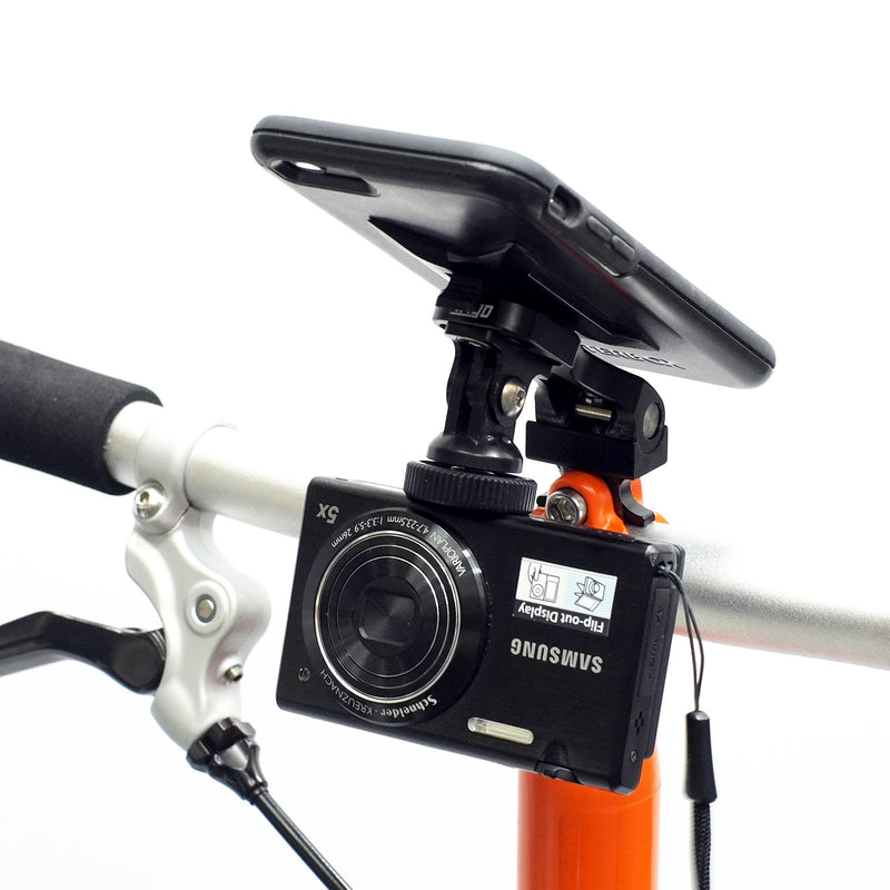 Trigo Add-on accessories: GoPro to 1/4 Bolt for compact camera (on the Brompton Edition)