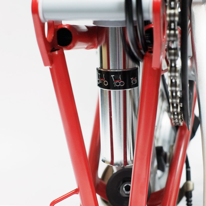 Brompton Hook Guard and Seat Limiter - Mighty Velo