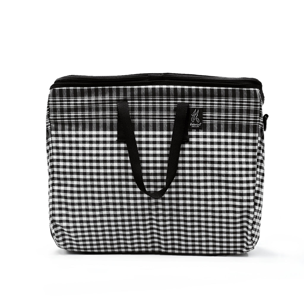 Brompton Folding Baskets by Valeria, you can match with different colours & patterns to contrast with your Brompton.