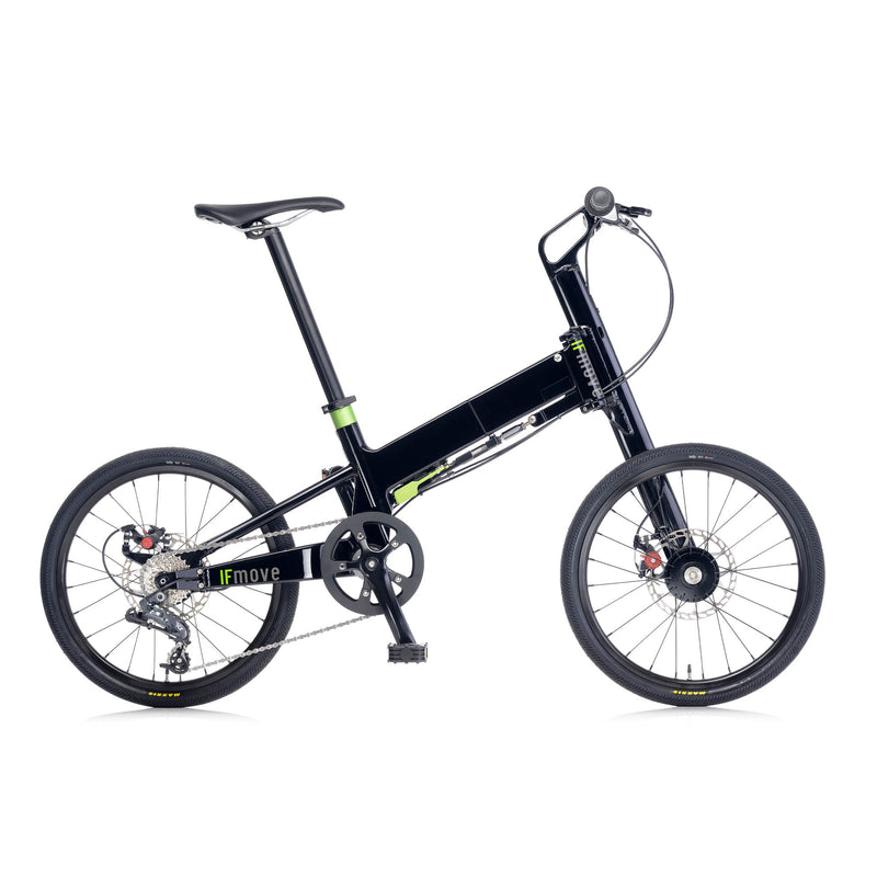IF Move 9 Speeds - Gloss Black - Mighty Velo