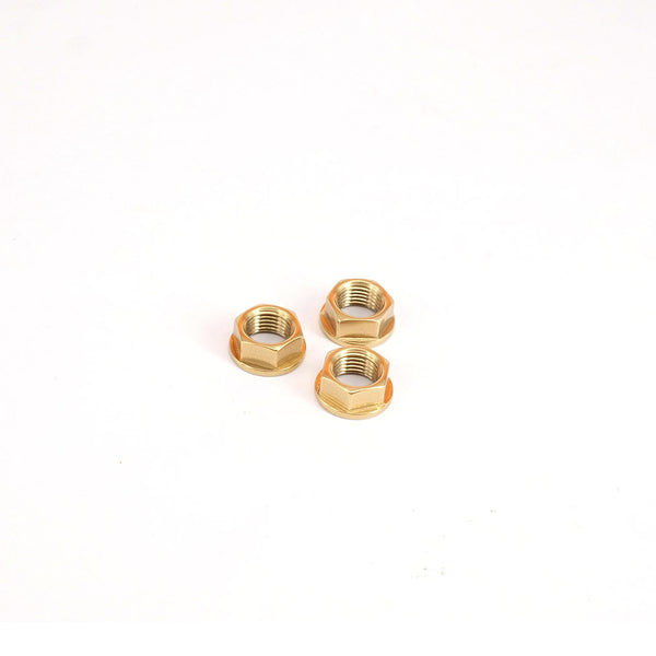 NOV Rear Axle Titanium Nuts (M10) for Brompton - Mighty Velo