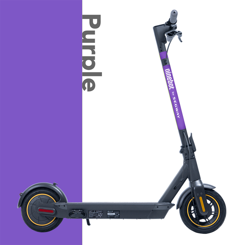 Segway-Ninebot MAX electric scooter with Phone Holder - OHMYBIKE