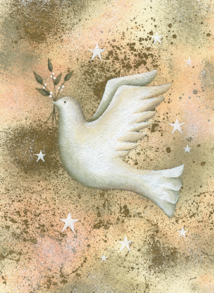 Christmas Card - Doves of Peace