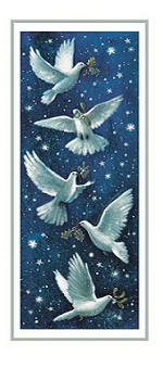 Christmas Cards - Christmas Doves
