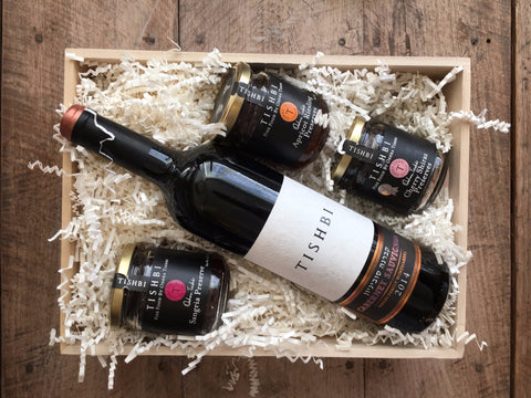 Tishbi Wine and Jam Gift Set