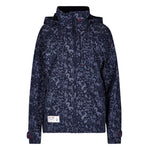 Printed Short Waterproof Coat