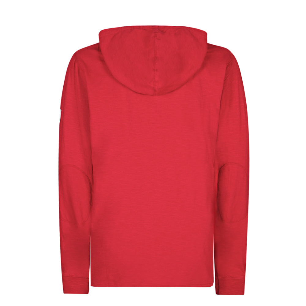 Hooded Grandad Top