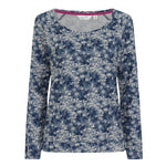 Printed Raglan Sleeve Top