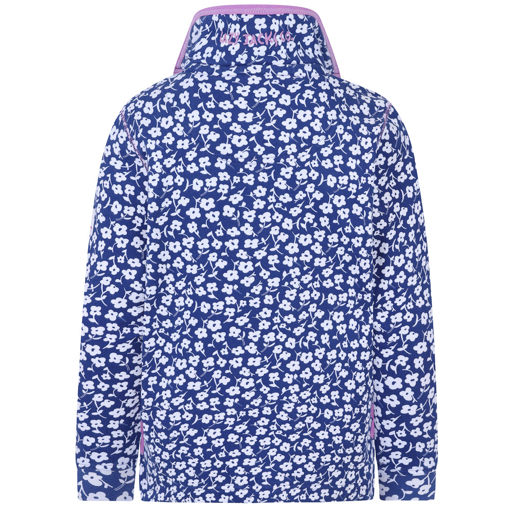 1/4 Zip Printed Sweatshirt