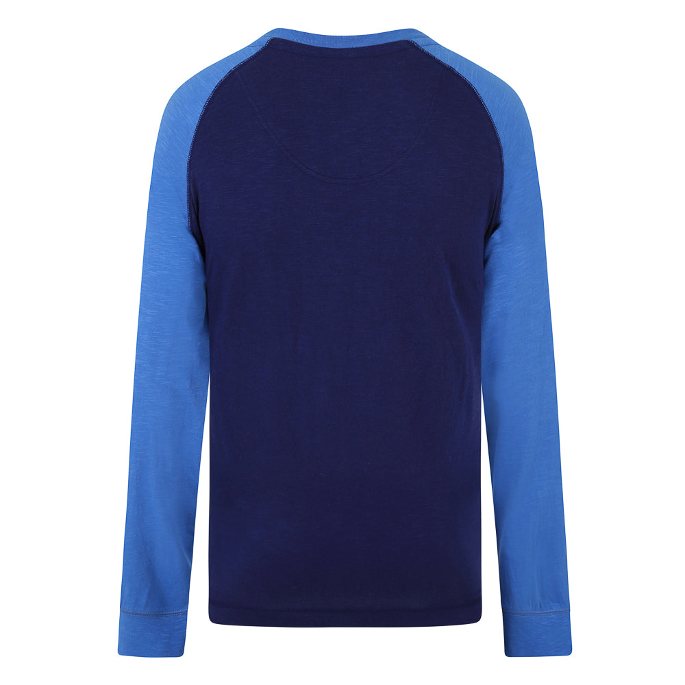 Crew Neck Raglan Top
