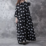 Cotton Linen Loose Fitting Dress