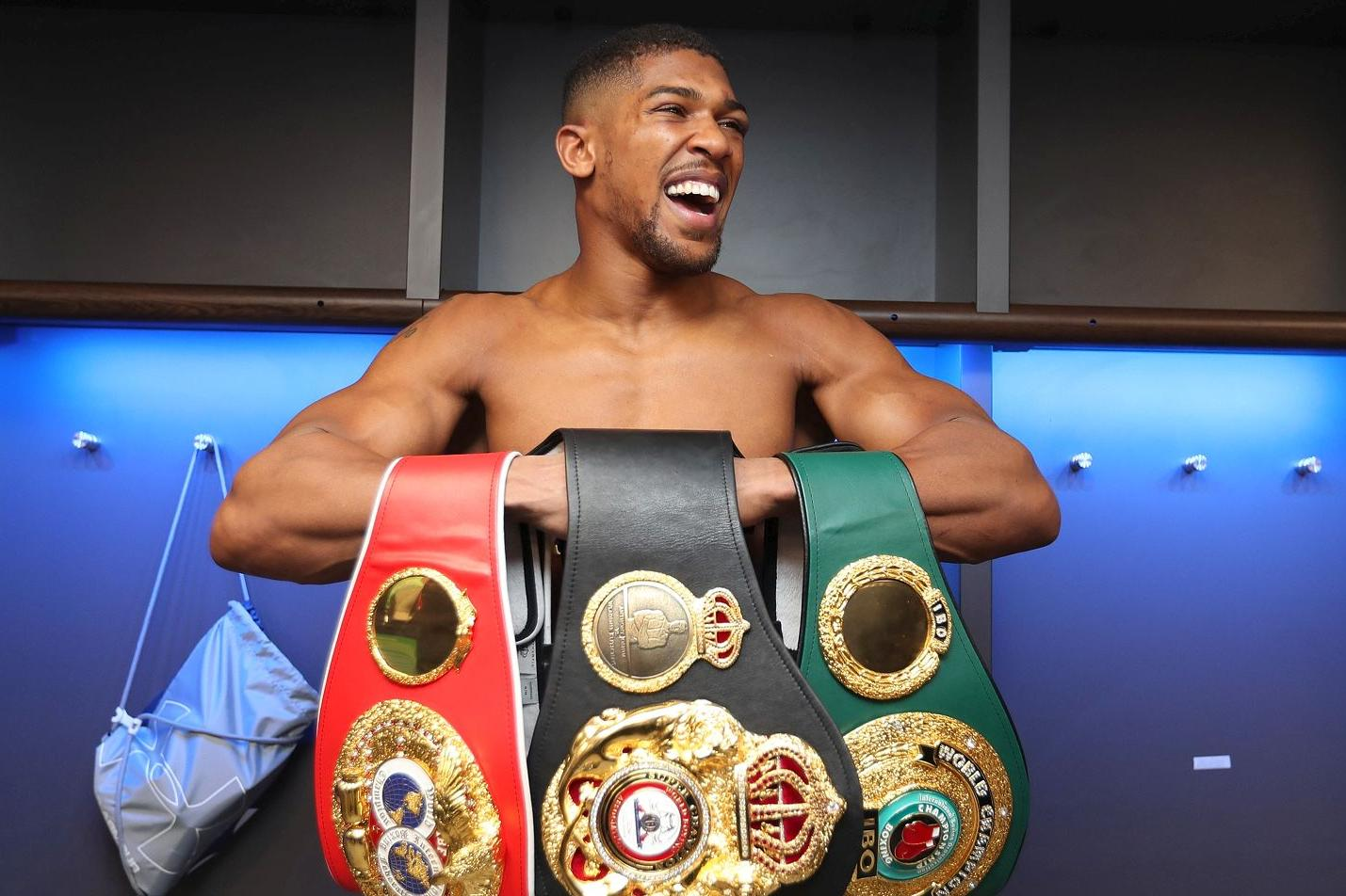 Anthony Joshua Has His Next 3 Fights Mapped Out