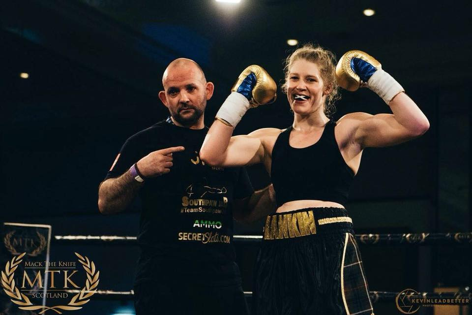 Hannah Rankin making history in Commonwealth title fight