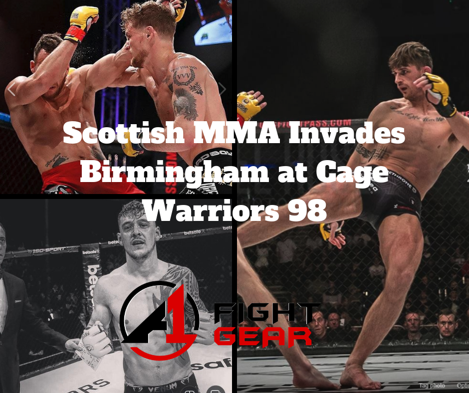 Scottish MMA Invades Birmingham at Cage Warriors 98