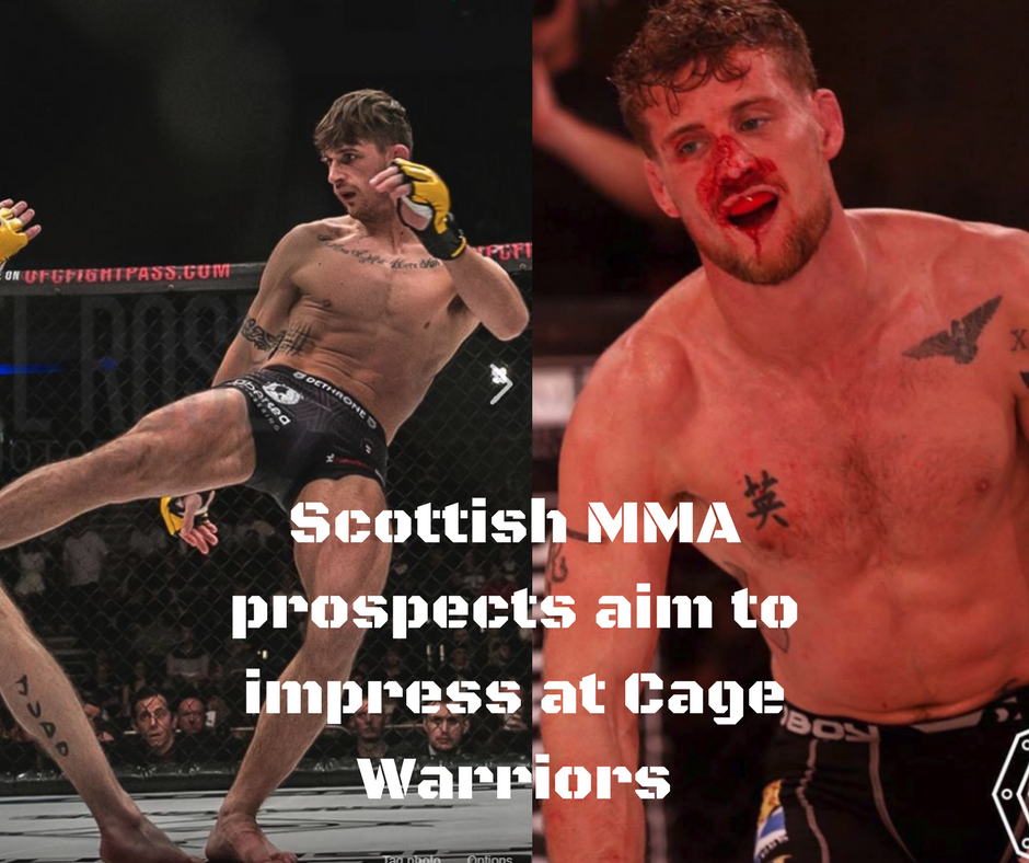 Scottish MMA prospects aim to impress at Cage Warriors