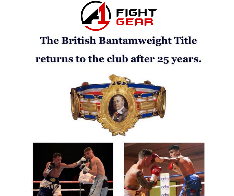 British Title fight at St Andrew's Sporting Club