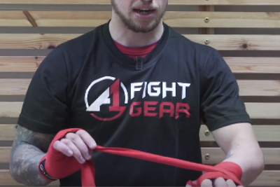How to Wrap Your Hands Like a Boxing Pro, with A1 Fight Gear Athlete, Dean Sutherland