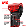 Red Haze Boxing Gloves