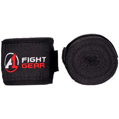 Black A1 Handwraps - A1 Fight Gear