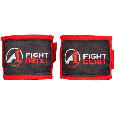 Red A1 Handwraps - A1 Fight Gear