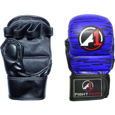 Blue Haze Pro Sparring MMA Gloves - A1 Fight Gear