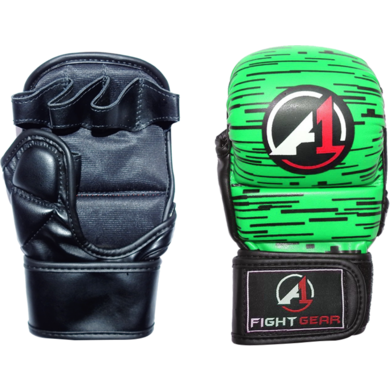 Green Haze Pro Sparring MMA Gloves - A1 Fight Gear